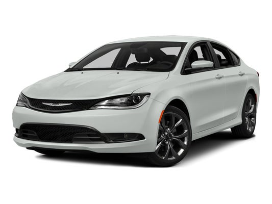 Chrysler 200 Tire Size >> 2015 Chrysler 200 Limited