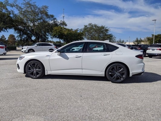 2021 acura tlx sh-awd with a-spec package sarasota fl